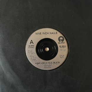 "Nine Inch Nails - Head Like A Hole (7"") (G-/G++)"